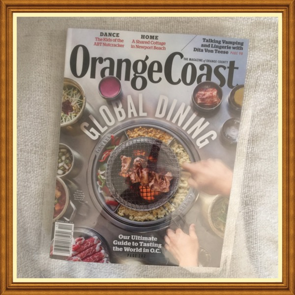 Orange Coast Magazine, December 2015 Global Dining. Our Ultimate Guide to Dining in O.C.