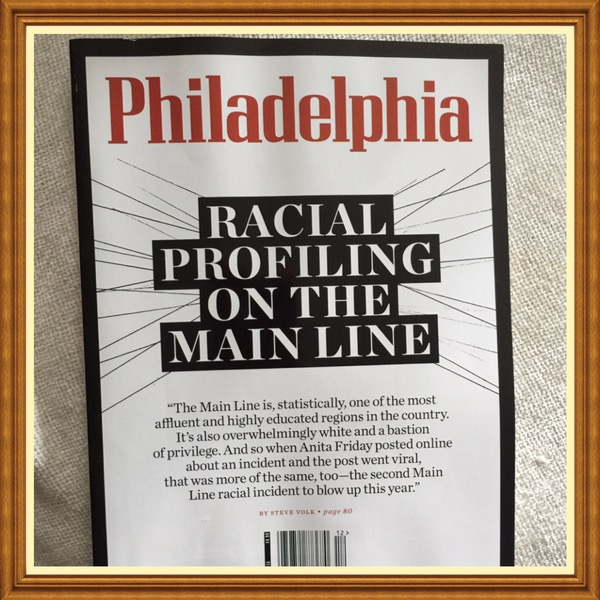 Philadelphia Magazine, December 2015, Racial Profiling on the Mainline