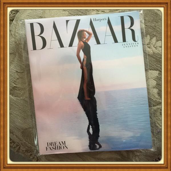 Harper's Bazaar Magazine, April 2016, Dream Fashion, Jennifer Aniston #TT911-HAR-APR16