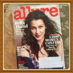 Allure Magazine, March 2016 25th Anniversary Issue Bella Hadid